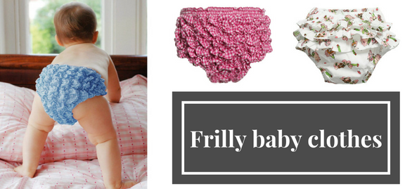 Bringing new stylish twist to the closet of your kid – get some frilly baby clothes to meet all needs