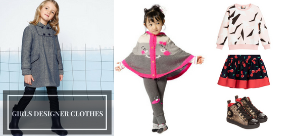 Let's celebrate a wealth of new arrivals among which girls designer clothes are available