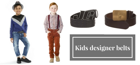 With a package of kids designer belts and braces your child will have a complete and coherent look