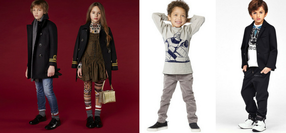 Inspired by nature and children the collection of kids designer clothes is perfect for every fashion forward child