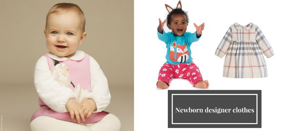 Let's forget about trivial clothing for children – enjoy the sophistication of newborn designer clothes