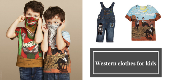 If you appreciate reliability, sustainability, high quality and brilliant style then you've got to browse through western clothes for kids