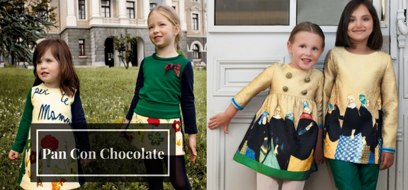 Irrespective of the age all children can have truly Pan Con Chocolate kids clothes which shout coolness and supremacy