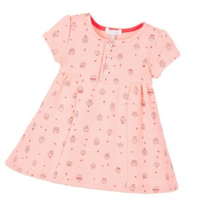 ABSORBA Baby Girls Pink Cupcake Dress