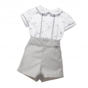 ANCAR Baby Boys Traditional Heritage Buster Suit