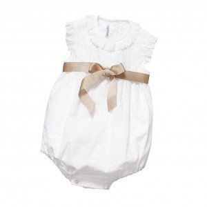 ANCAR White Broderie Anglaise Shortie