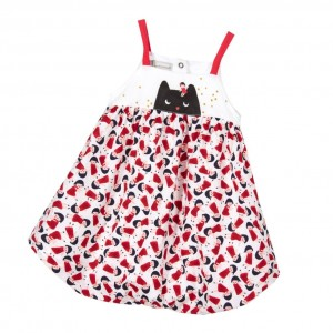 CATIMINI Baby Girls Cat Print Shortie