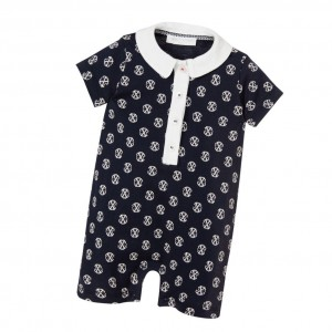 CHRISTIAN LACROIX Baby Boys Navy Blue Shortie