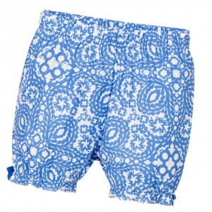 CHRISTIAN LACROIX Baby Girls Blue Printed Shorts