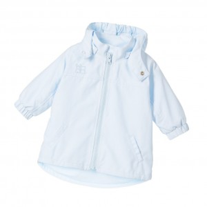 EMILE ET ROSE Baby Boy Pale Blue Microfiber Jacket
