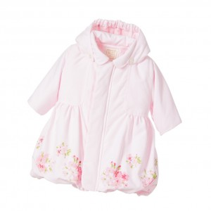 EMILE ET ROSE Baby Girl Pink Floral Coat