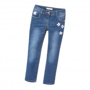 GUESS Girls Blue Denim Slim Fit Jeans
