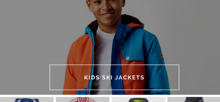 Kids ski jackets by famous designers are qualitative and bright
