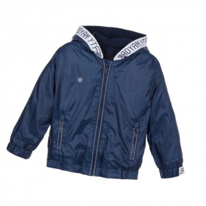 MAYORAL Boys Navy Blue Hooded Jacket