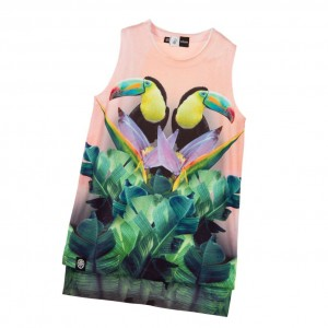 MOLO Girls Toucan Print 'Ro' Top
